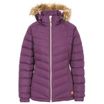 Girls Trespass Tiffy Padded Jacket - Navy