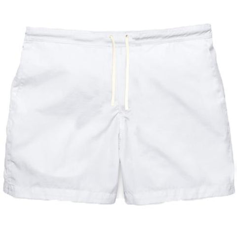 Mens Tom Swim Shorts - White