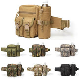 Tactical Waist Bag With Water Bottle Attachment - ACU