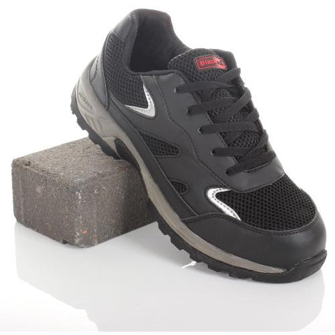Blackrock Ebony Steel Toe Cap Workwear Trainer Shoes