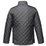 Regatta TRA441 Mens Tyler Diamond Quilted Water Repellent Jacket - Navy