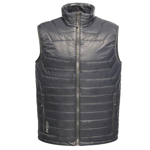 Mens Regatta X-Pro Icefall Gilet - Seal Grey