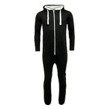 Adult Unisex Plain Onesie Black