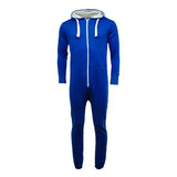 Adult Unisex Plain Onesie Royal