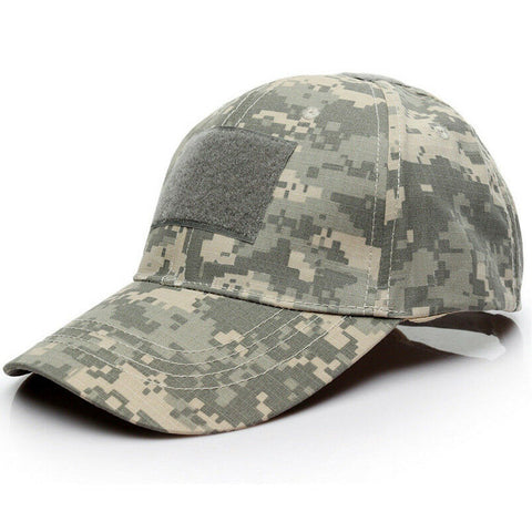 3 Patch Tactical Operators Baseball Cap - ACU