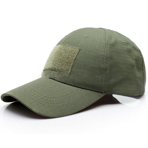 3 Patch Tactical Operators Baseball Cap - Olive