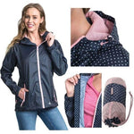 Ladies Trespass Indulge Packaway Raincoat TP75 Jacket