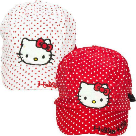 Girls licensed Hello Kitty Character Basball Cap