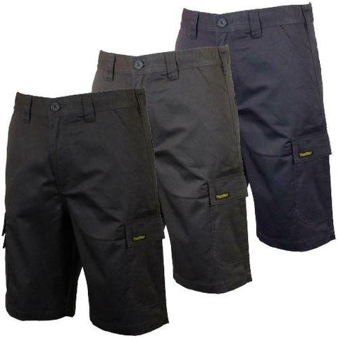 Men's Multipocket Cargo Work Shorts: Style 28399