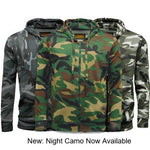 Game Mens Camouflage Zipper Gallery