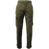 Game EN302 Stealth Waterproof Trousers Hunters Green Back