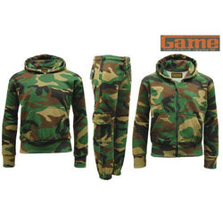 Game Kids Camoulfage Tracksuit Gallery