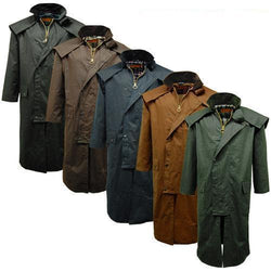 Game Mens Stockman Long Cape Jacket Gallery