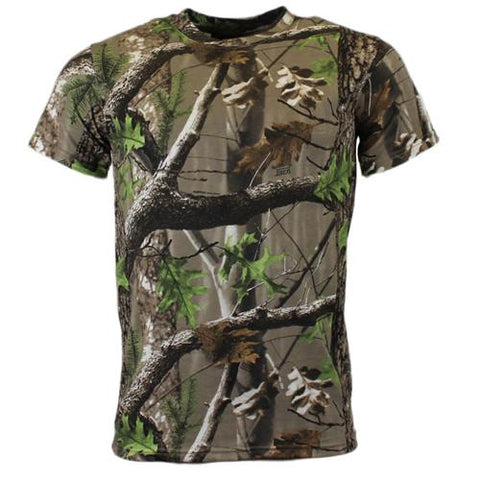 GAME Trek Mens Camouflage Short Sleeve Tshirt