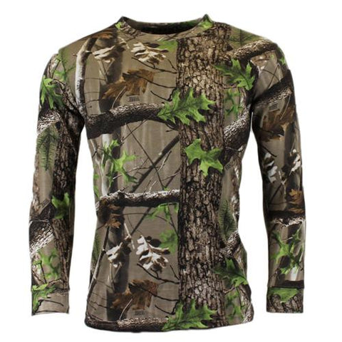 GAME Trek Mens Camouflage Long Sleeve Tshirt