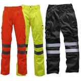 Hi Vis Polycotton Trousers