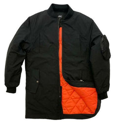 Mens Longline Padded MA1 Jacket