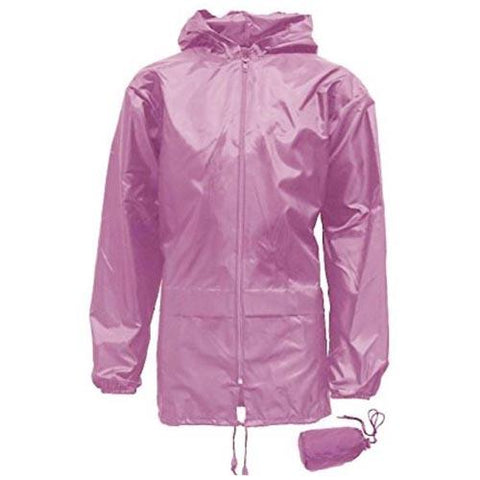 Kids Unisex Showerproof Jacket - Pink