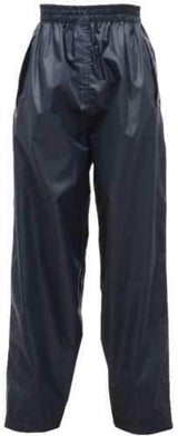 Kids Regatta Stormbreak Waterproof Overtrousers in Navy