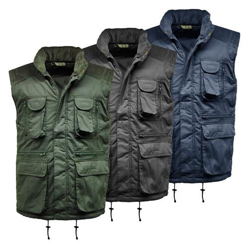 Mens Multipocket Padded Gilet Gallery