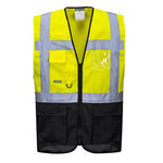 Portwest C476 Warsaw Hi Vis Vest Yellow/Navy