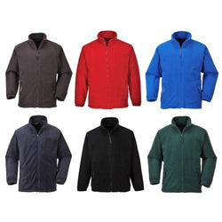 Portwest F400 Argyle Heavy Fleece Jacket Gallery
