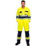 Portwest TX55 Nantes Hi Vis Overall yellow model