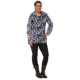 Rainyday Ella Printed Cagoule Black Circle