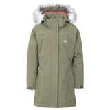 Trespass Girls Fame Jacket Moss Tone