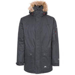 Trespass Jaydin Waterproof Parka Jacket in Black
