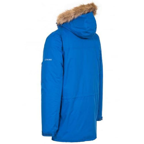 Trespass Jaydin Waterproof Parka Jacket in Blue