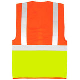 Yoko Executive Vest Orange/Back