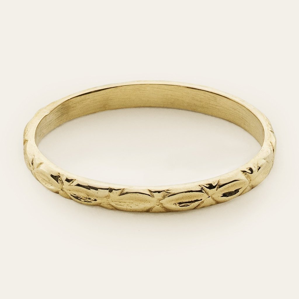 ORNAMENT RING - 18 karat gold