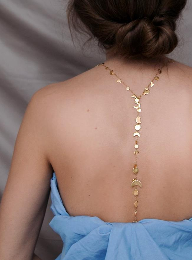 SECRET STAR NECKLACE - gold plated silver
