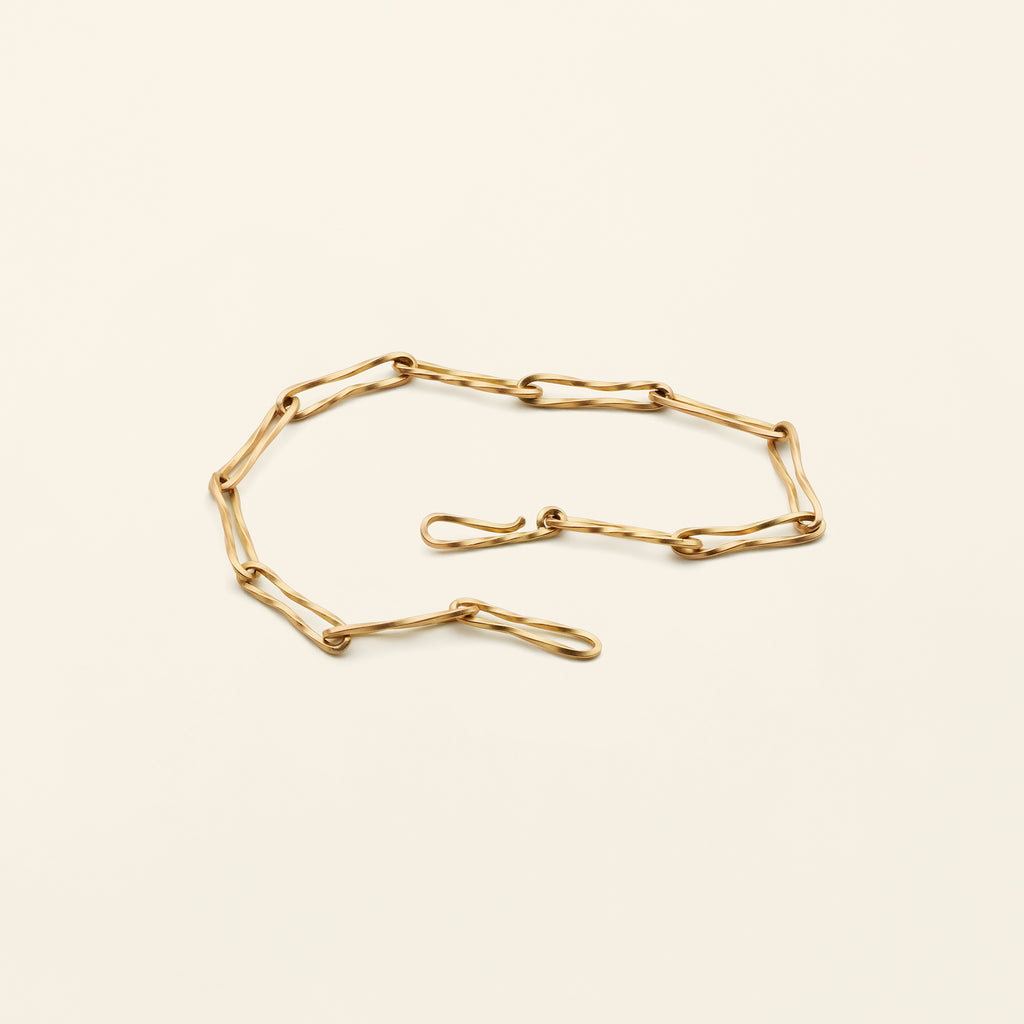 FLOW THIN BRACELET - 18K gold