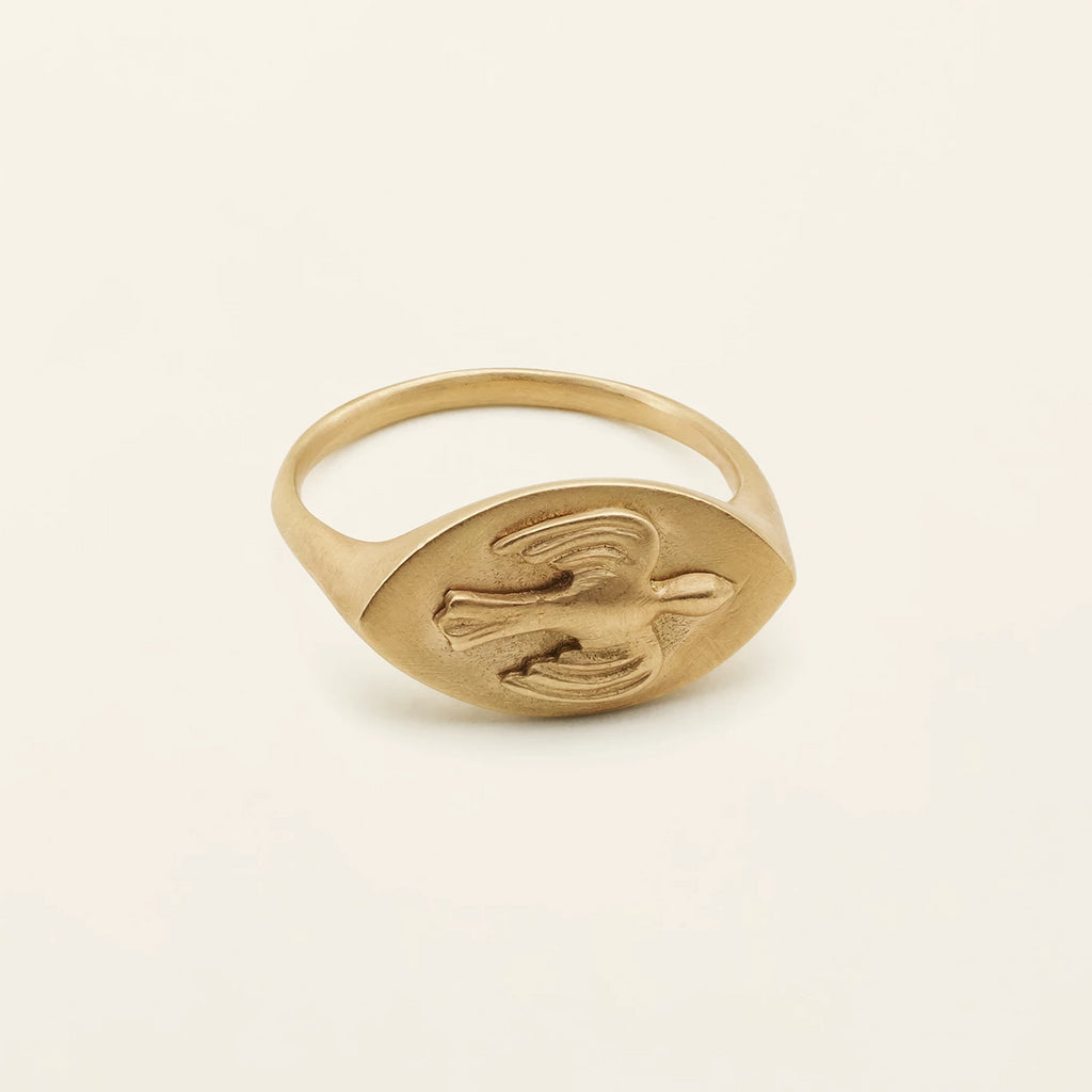 PERSIAN SIGANTURE RING - 18 karat gold