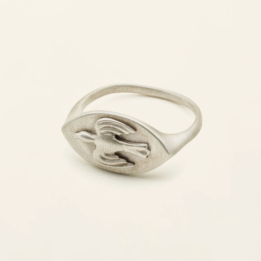 PERSIAN SIGANTURE RING - silver