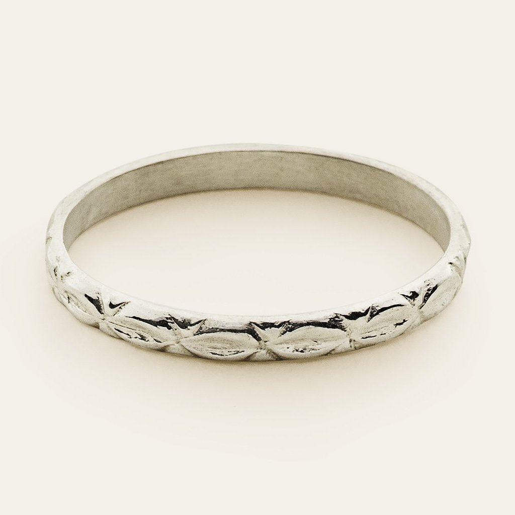 ORNAMENT RING - silver