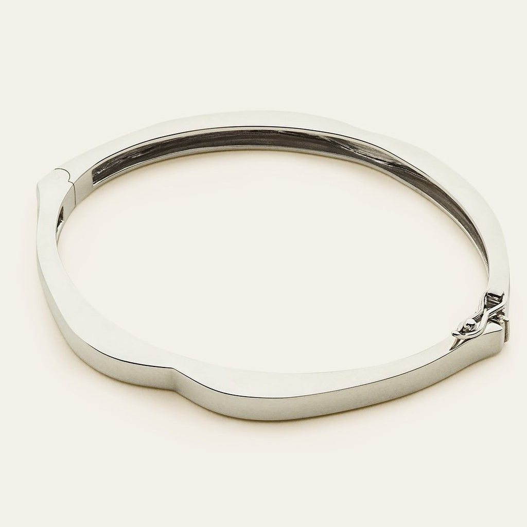 MOUTH BANGLE - silver