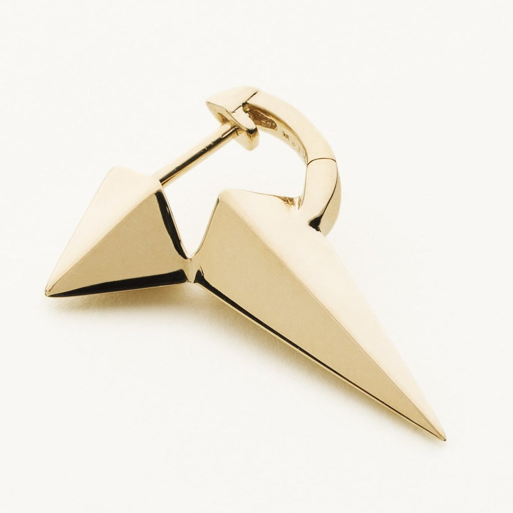 X-TRA LONG STUD - gold plated silver