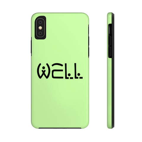 Well Logo Tough Phone Case - Well World Official