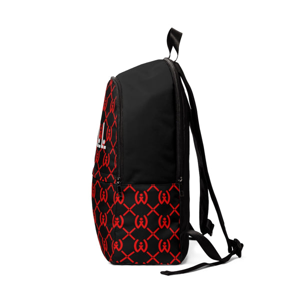 Red and Black Backpack - Well World Official
