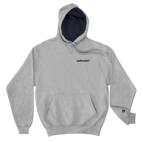 Well World Logo Champion Hoodie - Well World Official