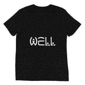 well world black logo tee - Well World Official