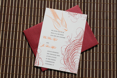 Wedding Invitations, Bridal Shower Invitations, Wedding Stationery