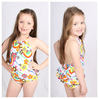 Growth Suit - Rainbow Candy - SIZE 1, 8