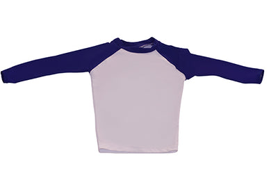 Long Sleeve Rash Top - Geo Fish