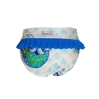 Back of Girls Bikini Bottom - Mermaid