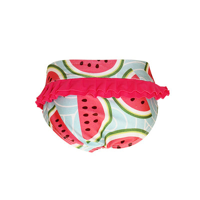 Back of Girls Bikini Bottom - Watermelon
