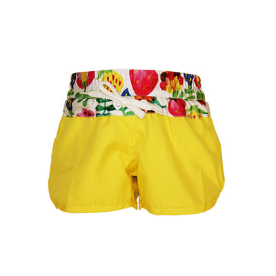 Girls Boardshorts - Summer Garden